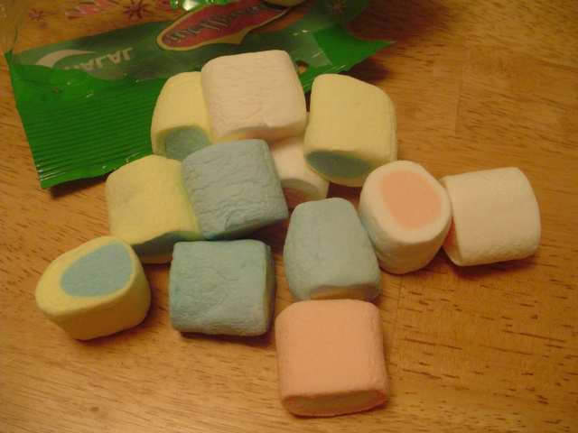 Wellmade Marshmallows out of the bag